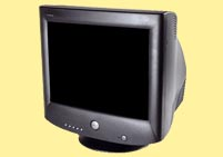 Used CRT Black Monitor